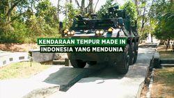Tonton Kendaraan Tempur Made in Indonesia yang Mendunia