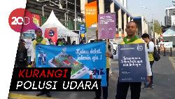 BPTJ Kampanye Jalan Hijau, Ajak Warga Gunakan Transportasi Umum