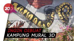 Gang Neraka yang Dihidupkan Lewat Mural di Cimahi