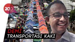 Menang Gugatan Lawan Anies, PSI Minta PKL Trotoar Jatibaru Ditertibkan