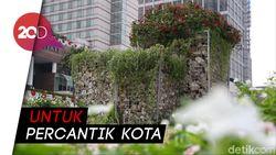 Anies Soal Instalasi Batu Gabion: Bagian dari Tata Taman Kota