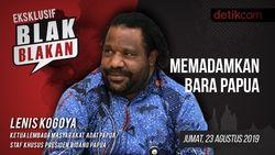 Tonton Blak-blakan Lenis Kogoya: Memadamkan Bara Papua
