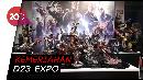Gelaran D23 Expo di California Dipadati Para Fans Disney