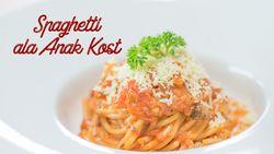 Bikin Spaghetti Ala Anak Kost, Cepat dan Mudah!