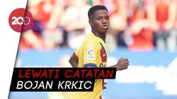 Ansu Fati, Pencetak Gol Termuda Barcelona