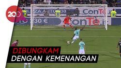 Diserang Fan Cagliari, Lukaku Jadi Pahlawan Inter