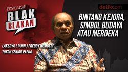 Blak-blakan Freddy Numberi: Bintang Kejora, Simbol Papua atau Merdeka