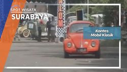 Kontes Slalom Mobil Kodok Dan Combi Surabaya