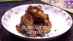 Ayam Goreng Serundeng Beraroma Nan Gurih