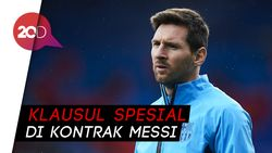 Lionel Messi Boleh Tinggalkan Barca Kapan Saja