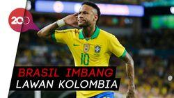 Cetak Gol dan Assist, Neymar Selamatkan Brasil