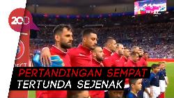 Lawan Albania, Prancis Salah Setel lagu Kebangsaan