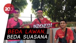 Jelang Laga Indonesia Vs Thailand, GBK Masih Sepi Suporter