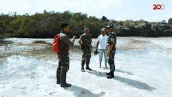 Dandim Rote Ndao Periksa Lokasi Dugaan Jual Beli Pulau