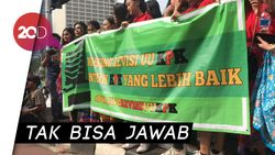Ketika Peserta Aksi Dukung Revisi UU KPK Gagal Paham