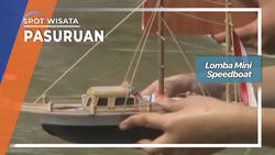 Lomba Mini Speedboat, Pasuruan