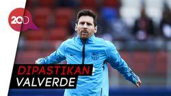 Hai Fans Barcelona, Kondisi Messi Sudah Oke