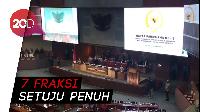 DPR Resmi Sahkan Revisi UU KPK
