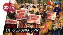 Tokoh Pewayangan hingga Gundala Demo Dukung RUU KPK