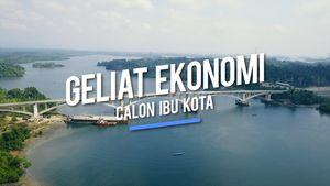 Geliat Ekonomi di Ibu Kota Baru