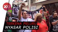Bocah 8 Tahun Tertembak, Warga Rio de Janeiro Tuntut Keadilan
