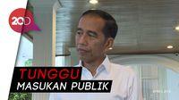 Jokowi Tunda Pengesahan 4 RUU, Termasuk KUHP