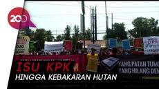 Aksi #GejayanMemanggil, Mahasiswa Yogya Ramai-ramai Turun ke Jalan