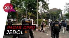 Kericuhan Pecah dalam Aksi Mahasiswa di Bandung, Suasana Mencekam!