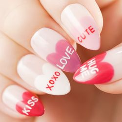 Tutorial Heart French Nails yang Simple Namun Berkesan