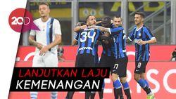 Kalahkan Lazio, Inter Masih Sempurna di Serie A