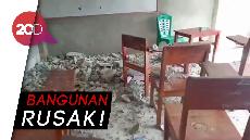 Suasana Kepanikan Saat Gempa M 6,8 Terjang Ambon