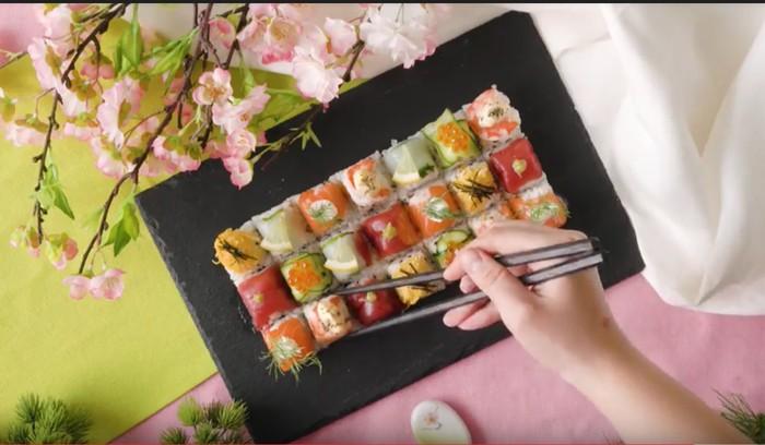 Mudah Membuat Sushi dengan Kreasi Sushi Kubus