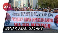 Viral! Spanduk TAP MPR Aksi Mujahid 212 Disoroti Netizen