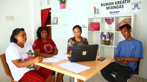 Rumah Kreatif BUMN Dorong UMKM di Miangas Melek Digital
