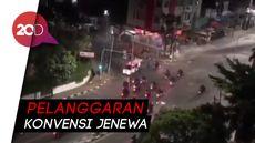 Detik-detik Ambulans Ditembak Gas Air Mata