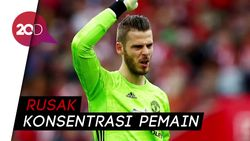 MU Vs Arsenal Imbang, David de Gea Kecewa dengan Hakim Garis