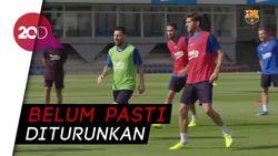 Jelang Lawan Inter, Kondisi Messi-Dembele Masih Tanda Tanya