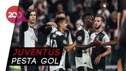 Ronaldo Cetak Gol, Juventus Gulung Leverkusen