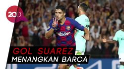 Menang Tipis, Barcelona Susah Payah Dobrak Pertahanan Inter