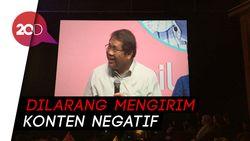 Jadi Admin Grup WA Kabinet Jokowi, Rudiantara Punya Aturan Sendiri