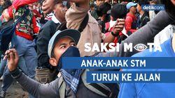 Saksi Mata: Anak-anak STM Turun ke Jalan