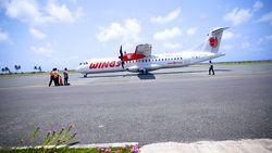 Bandara di Ujung Utara Indonesia Beroperasi Seminggu Sekali