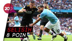 Manchester City Kian Jauh dari Liverpool