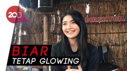 Hobi Naik Gunung, Debi Sagita Tetap Skincare-an saat Mendaki