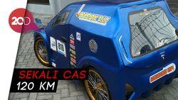 Penampakan Warok Mobil Listrik Buatan Mahasiswa Ponorogo