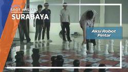 Aksi Robot Pintar, Surabaya