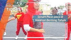 Senam Poco-poco di Halaman Benteng Tohula Tidore