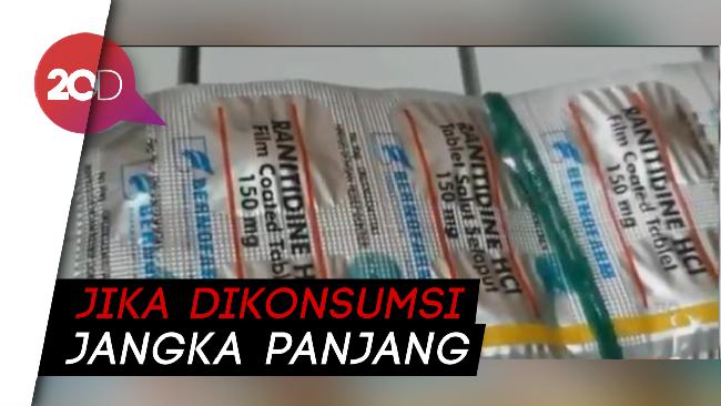 Berisiko Picu Kanker Bpom Setop Penggunaan Obat Mag Ranitidin