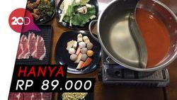 Puas! Nikmatnya All You Can Eat Shabu-shabu dengan Daging Premium
