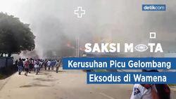 Saksi Mata: Kerusuhan Picu Gelombang Eksodus di Wamena